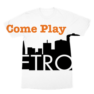 ComePlayDetroit Premium Sublimation Adult T-Shirt
