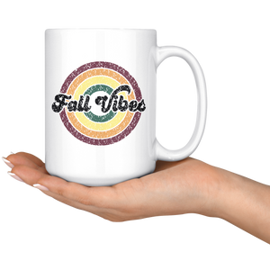Fall Vibes - 15 oz Mug