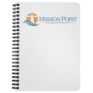 Mission Point Spiral Notebook