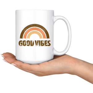 Good Vibes - 15oz Mug