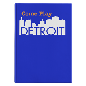 Hardcover Journal - Come Play Detroit