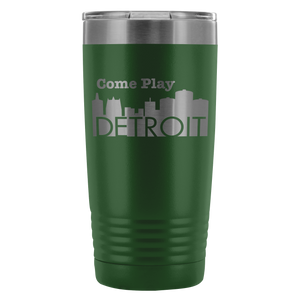 20oz Tumbler - Come Play Detroit