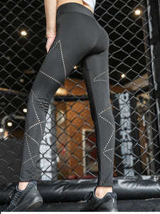 High Waist Mesh Holes - Sportantz