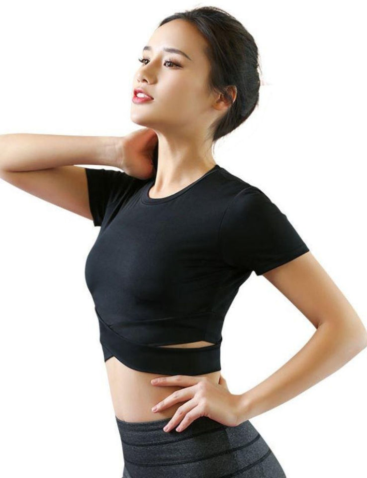 Cross Crop Top SS627