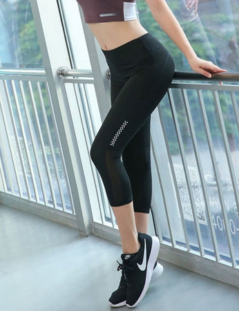 High Elastic Capri Pants SP405 - Sportantz