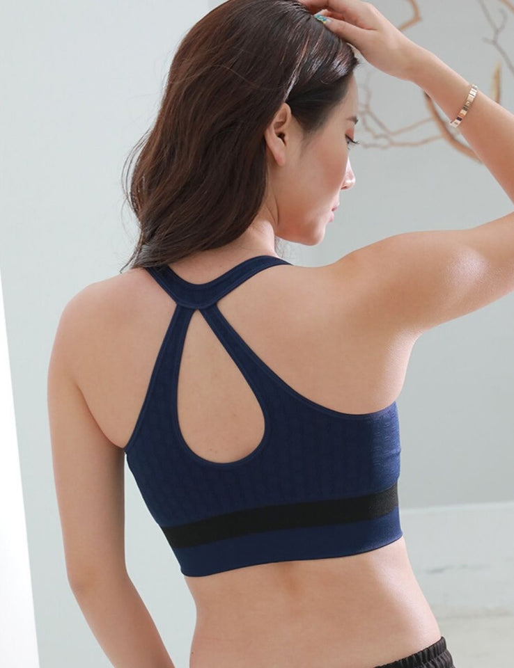 Easy Zip Sport Bra SB1917