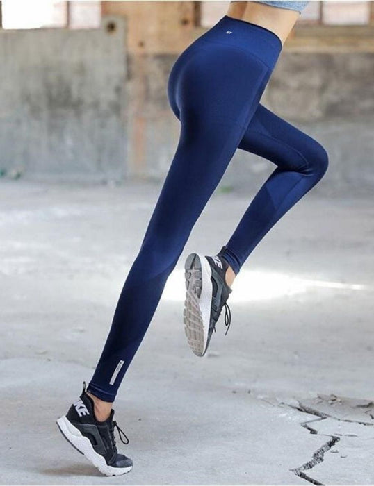 High Waist Elastic Long Sport Pants SP9750