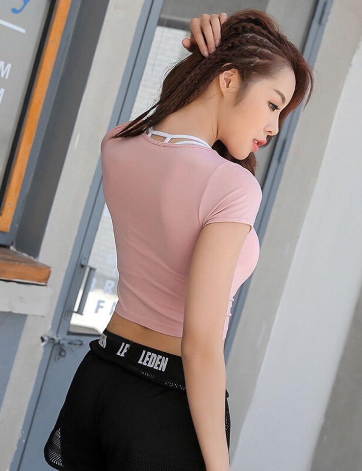 Slim-fit Crop Top SS363