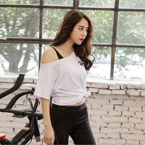 Korean Loose Collar fahison sport Top stylish quick dry and comfortable - Sportantz