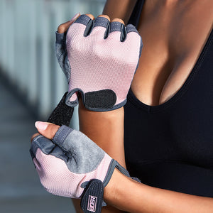 Gym Half Finger Breathable Gloves - Sportantz