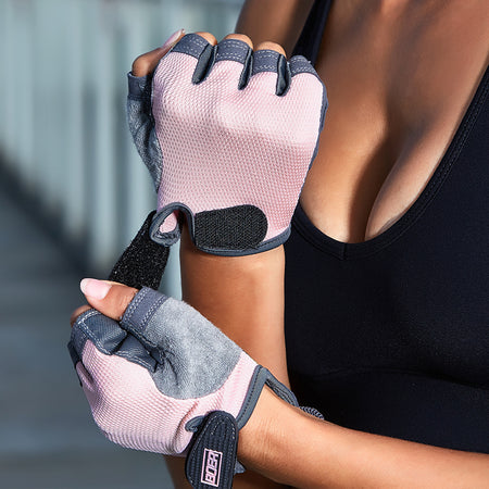 Women's fitness gym / riding outdoor half finger breathable gloves - Sportantz