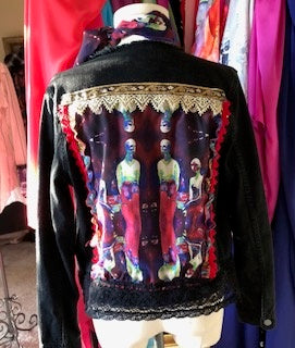 Art Jacket - Couture on Black