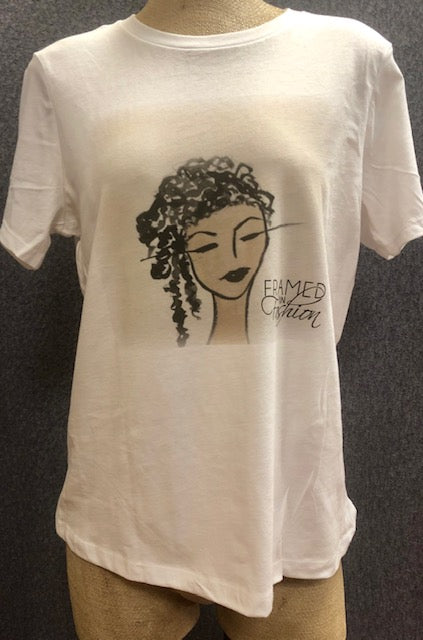 SOLD - Art Tee Shirt - Chantal - Logo