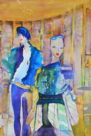 Art Jacket - Two for the Show -SOLD