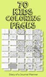 Coloring Book - 70 Printable Pages