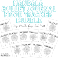 Mandala Mood Tracker Bundle