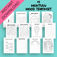 Year Of Mood Trackers Bundle