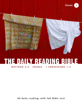 The Daily Reading Bible (Volume 1)