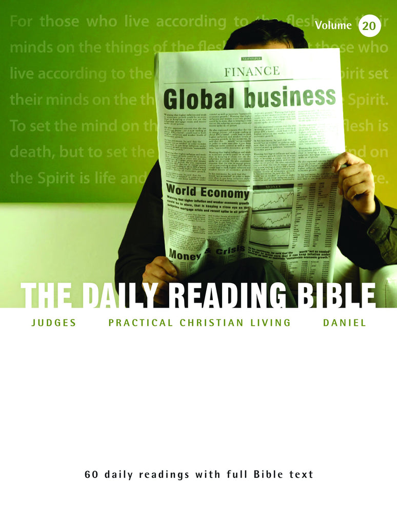 The Daily Reading Bible (Volume 20)