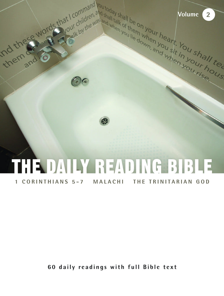 The Daily Reading Bible (Volume 2)
