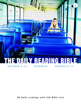 The Daily Reading Bible (Volume 4)
