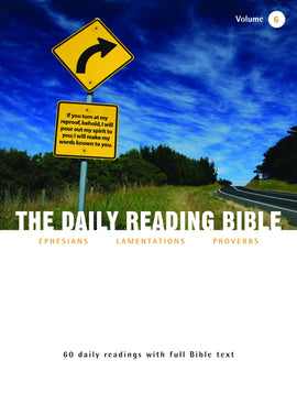 The Daily Reading Bible (Volume 6)