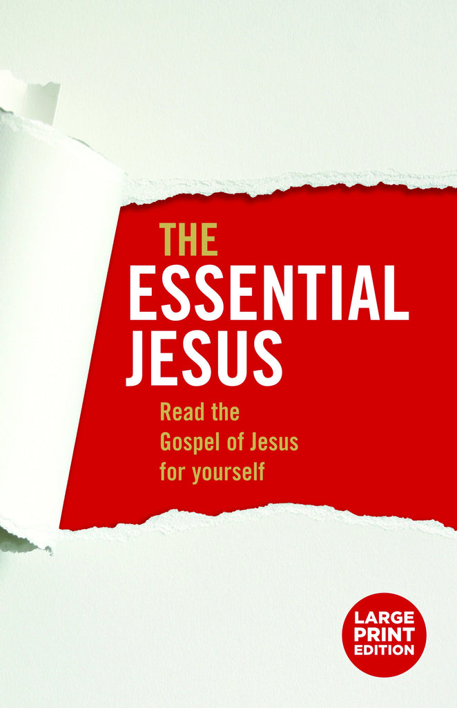 The Essential Jesus (Large Print edition)