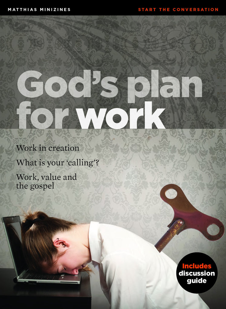 MiniZine: God's Plan for Work