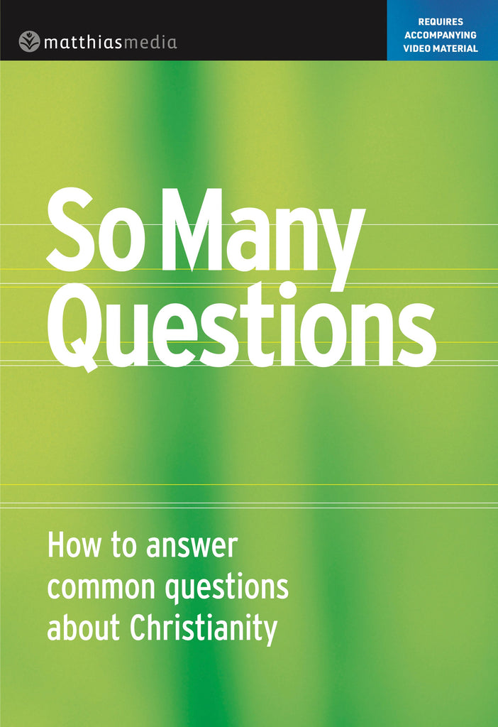So Many Questions (DVD)