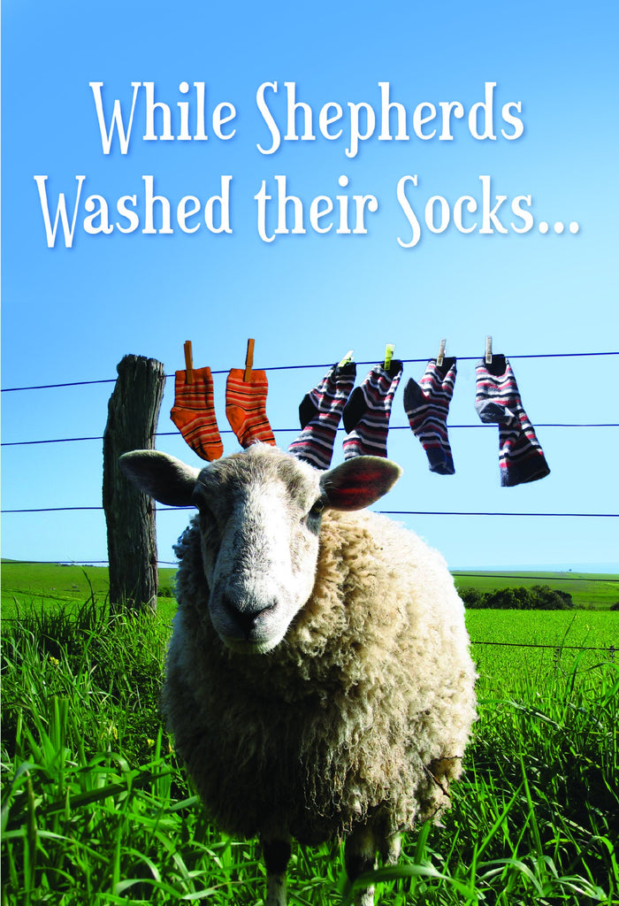 While Shepherds Washed their Socks (leaflet)
