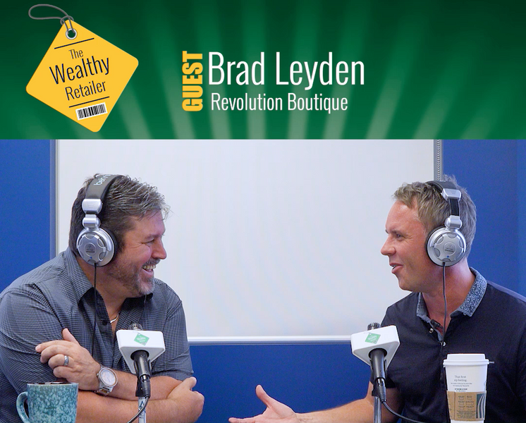 One on one with Brad Leyden, owner of Revolution Boutique