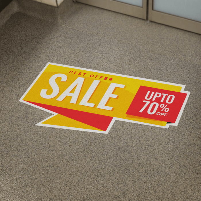 Custom Floor Graphics • Turnaround: 4-5 Business Days