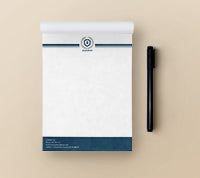 Notepads 25 pages • Turnaround: 4-5 Business Days