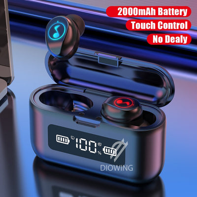 Bluetooth Earphone Touch Earphones Wireless Headphones Bloototh Earphone