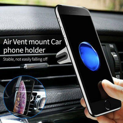 Multipurpose Mobile Phone Bracket Car Vent Holder Stand Universal 360 Degree Rotation for iPhone Sumsung Huawei