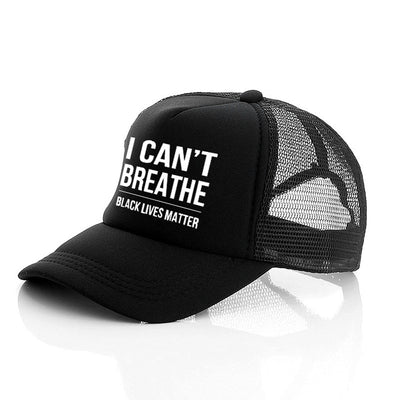 I can't Breathe Summer Hat Adjustable Sports Hats Baseball Caps