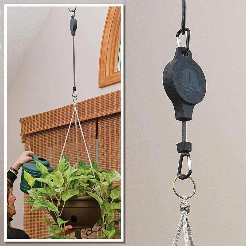 5 PCS Easy Reach Plant Pulley Set Hooks Plant Pulley For Garden Supplies Tools Fashion Creative Home and Garden Tools Accessories