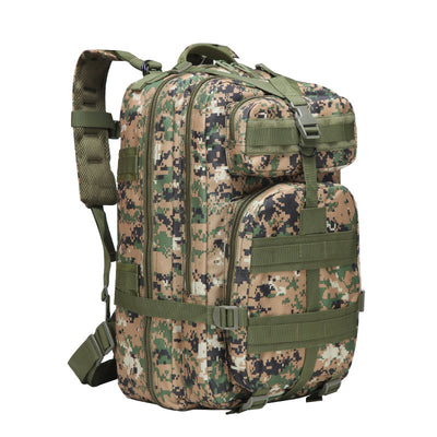 Sports outdoor mountaineering travel double shoulder knapsack camping army camouflage pack tactical backpack 45L large 3P Backpack