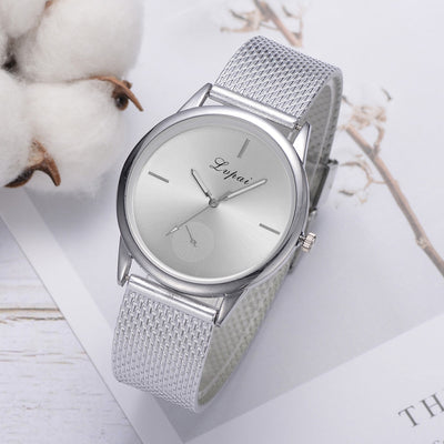 Luxury Quartz Watch Women's Fashion Casual Quartz Silicone Strap Band Analog HOT Selling Rubber Wrist Watch