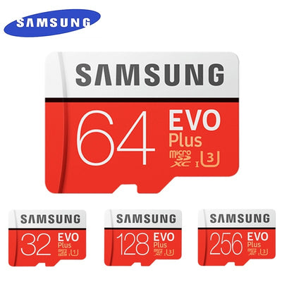 SAMSUNG EVO+ Micro SD 32G SDHC 80mb/s Grade Class10 Memory Card C10 UHS-I TF/SD Cards Trans Flash SDXC 64GB 128GB