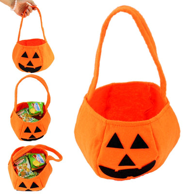 Halloween Party Supplies Non-woven Fabrics Pumpkin Bags