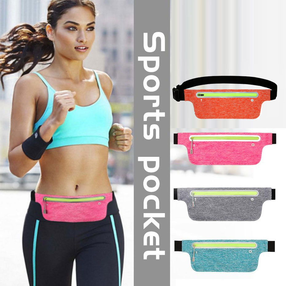 Waist Pack Running Waist Bag Waterproof Bags Pouch Pocket Walking Phone Coin Purse Bag for Outdoor Sport