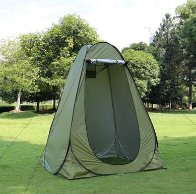 Outdoor shower, bathing and changing tent