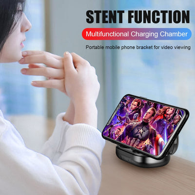 Bluetooth 5.0 Earphone Wireless Headphons Sport Handsfree Earbuds 9D Stereo Waterproof Headset With 4000mAh Power Bank