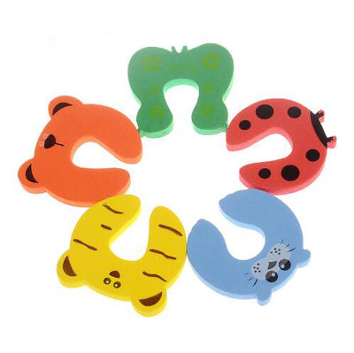 Baby Safety Cute Animal Security Card Door Stopper
