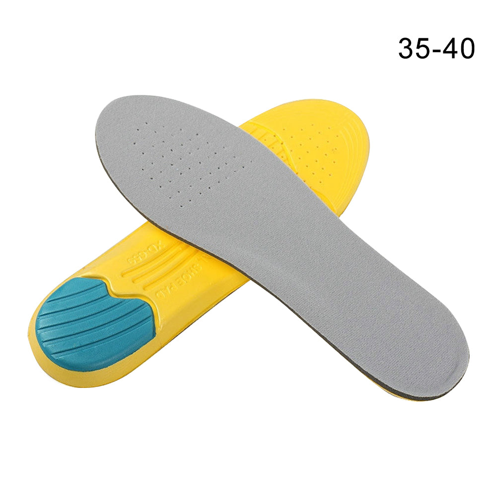 1Pair Outdoor Men Women Deodorize Foot Care Shoe Pad Can Be Cut Orthotic Memory Foam Sports Insoles Reusable Mountaineering