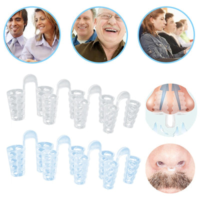 Anti Snore Apnea Nose Clip Anti-Snoring Breathe Aid Stop Snore Device Sleeping Aid Equipment Stop Snoring
