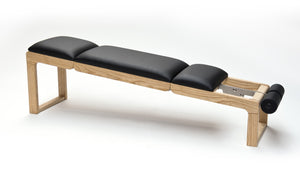 NOHrD TriaTrainer training bench - Oak, artificial leather