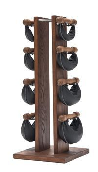 NOHrD SwingTower - Walnut BLACK SPECIAL: 2, 4, 6 & 8 kg.