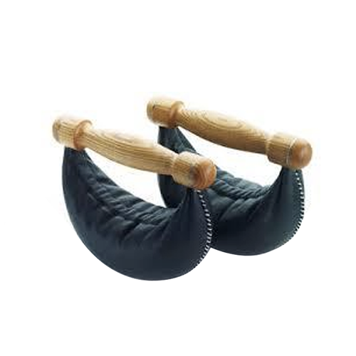 NOHrD Swing Weight - Ash, Black Leather: 6 kg. (x 1 weight)